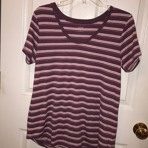 Striped top, Size Large
